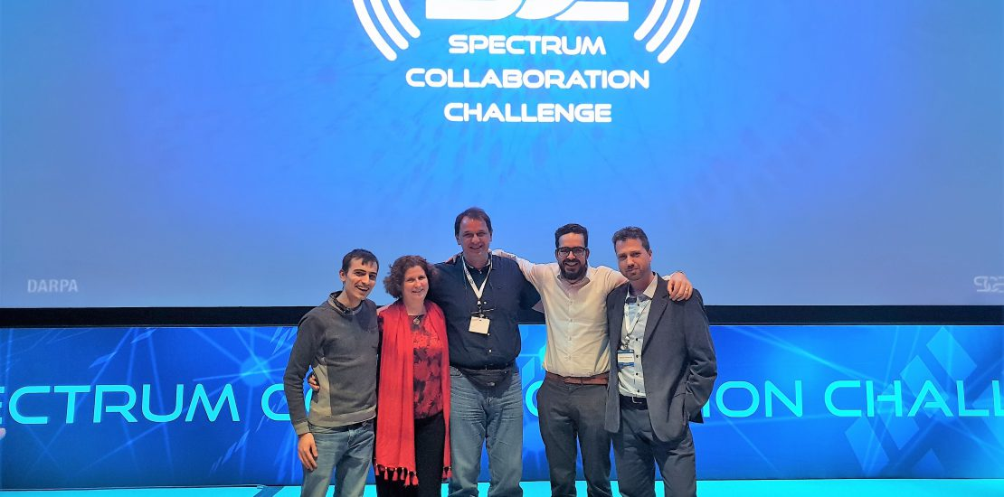 IDLab team wins a 2nd award of 750,000 USD in Phase 2 of the DARPA Spectrum Collaboration Challenge